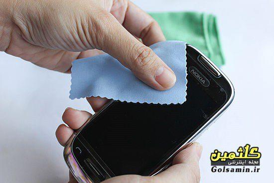چند راهکار ساده برای تمیز کردن صفحه نمایش موبایل و تبلت