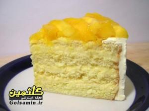 کیک انبه