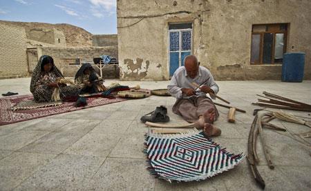 هنرهای دستی ایرانی , هنرهای سنتی,سپ بافی