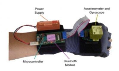 صفحه کلید,دستکش تایپ airwriter,دستکش تایپ