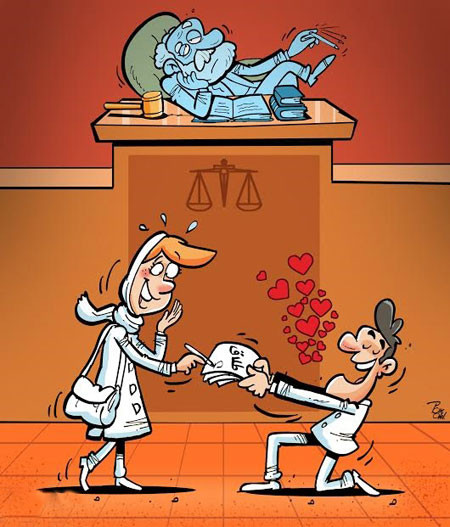 کاریکاتور جالب , کاریکاتور آتش نشان