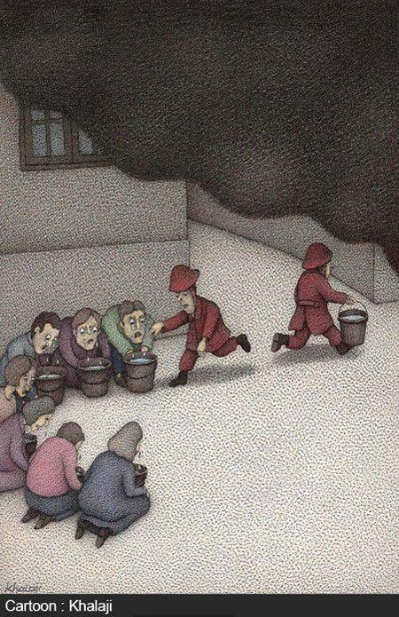 کاریکاتورهای مفهومی و جالب (۳۰)