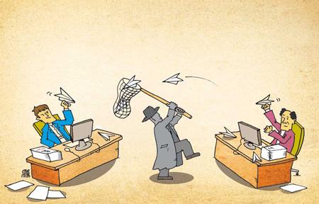 کاریکاتور سیاسی , کاریکاتورهای مفهومی