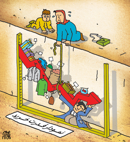 کاریکاتورهای گرانی عید