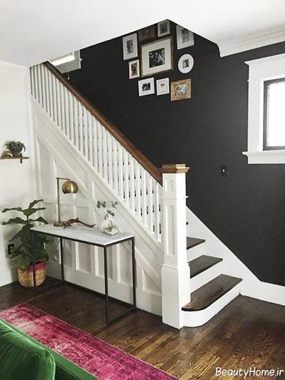 رنگ دیوار راه پله و راهرو رو چگونه انتخاب کنیم؟