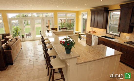 چگونه یک جزیره در آشپزخانه طراحی کنیم؟