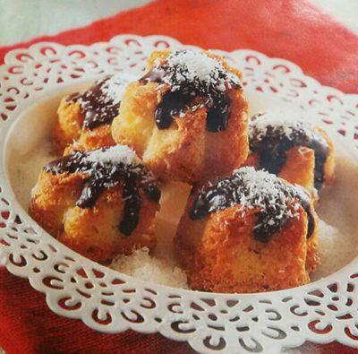 درست کردن شیرینی بادام نارگیل,موادلازم برای تهیه شیرینی بادام نارگیل