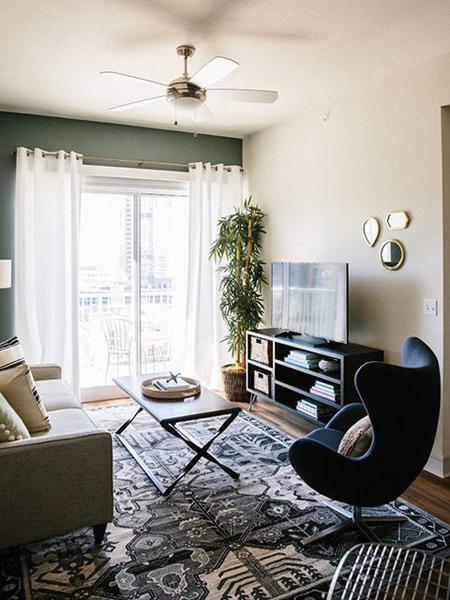 بهترین رنگ برای خانه های کوچک,طراحی و تزیین خانه های کوچک