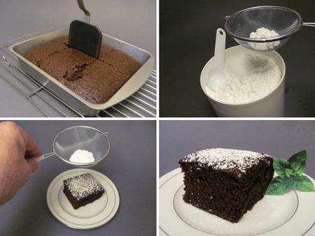 تهیه کیک شکلاتی بدون شیر و تخم مرغ,طرز تهیه کیک شکلاتی بدون شیر و تخم مرغ