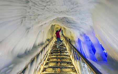 غار نینگوو,غار یخی نینگوو,غار یخی چین
