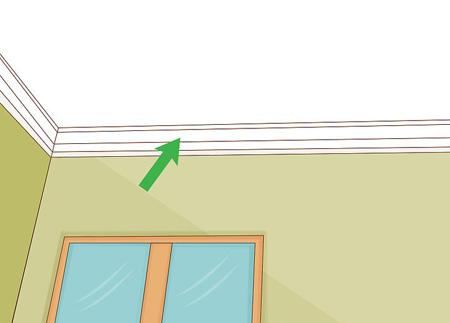 رنگ های مناسب سقف, ارتفاع سقف بلندتر