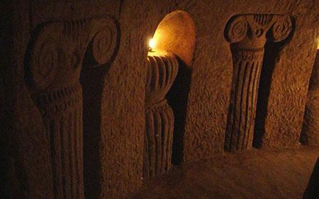 غار لوون, غار لوون در ارمنستان, غار دست ساز لوون