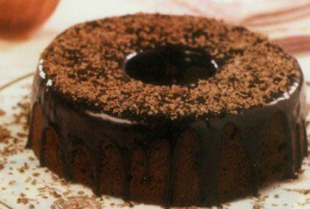 طرز تهیه کیک پودینگ موکا