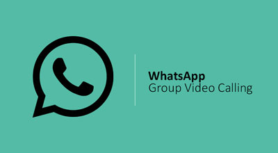 چگونه با واتس اپ تماس تصویری گروهی بگیریم؟