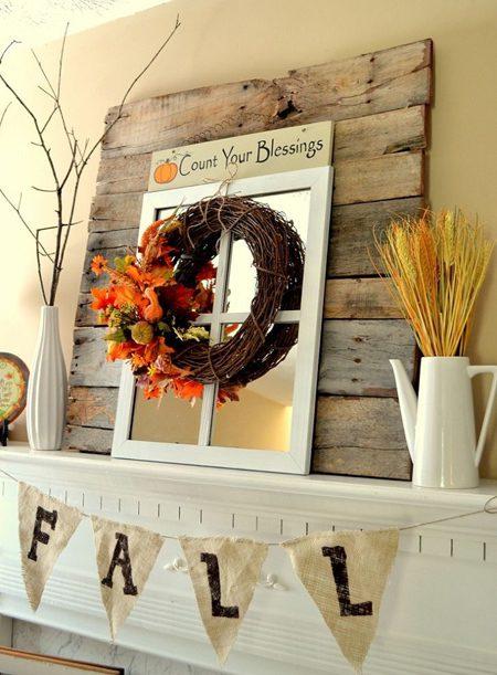 دکوراسیون پاییزی خانه, چیدمان خانه به رنگ پاییز