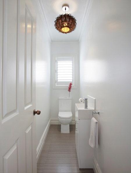 دکوراسیون دستشویی های کوچک, نکاتی برای سرویس بهداشتی های کوچک