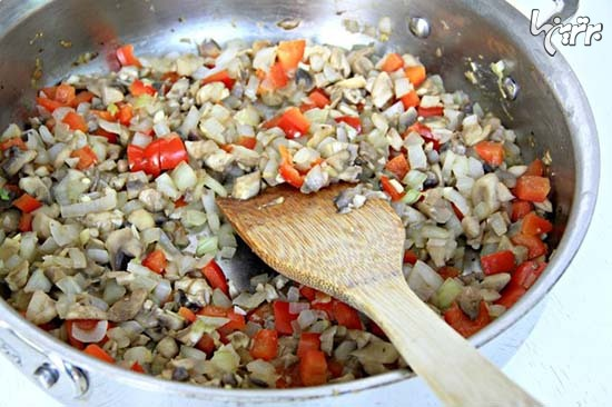 کاهوپیچ بوقلمون؛ یک غذای سالم و خوشمزه