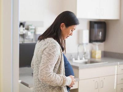 نشانه های زایمان طبیعی,اواخر بارداری