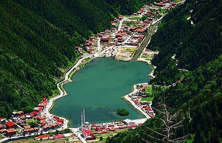 ترابزون, شهر ترابزون در ترکیه,جاذبه های گردشگری ترابزون