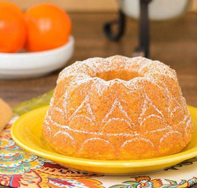 طرز تهیه کیک ماست نارنگی, نحوه پخت کیک ماست نارنگی