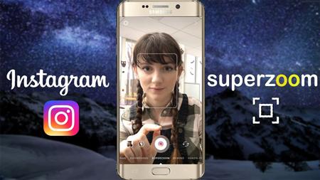 آپدیت جدید اینستاگرام, SuperZoom استوری اینستاگرام