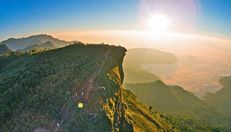 کوه فو چی فاه چیانگ رای,عکس های کوه فو چی فاه چیانگ رای,تصاویر کوه فو چی فاه