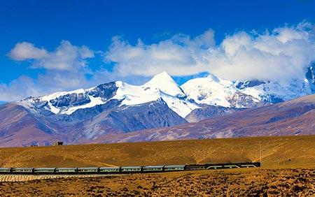 زیباترین مسیرهای قطار,مسیرهای قطار زیبا,قطار اکسپرس پکن به لهاسا
