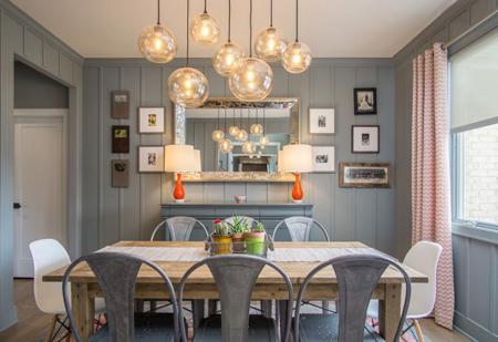 نورپردازی اتاق غذاخوری,نکاتی برای نورپردازی اتاق غذاخوری