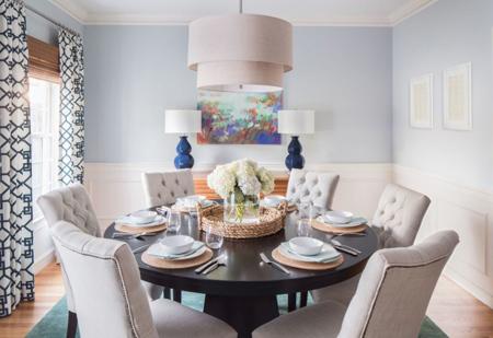 نورپردازی دکوراسیون اتاق غذاخوری, راهکارهای نورپردازی اتاق غذاخوری