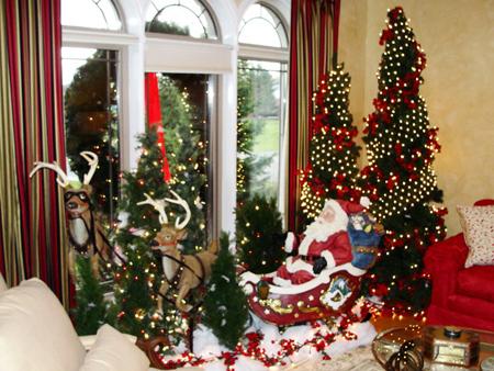 دکوراسیون خانه در کریسمس, تزیینات کریسمسی
