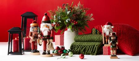 تزیین میز غذاخوری کریسمس, چیدمان کریسمسی