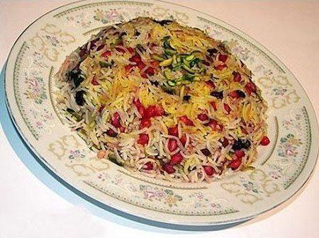 طرز تهیه آشنایی با روش تهیه انار پلو، غذای مخصوص شب یلدا