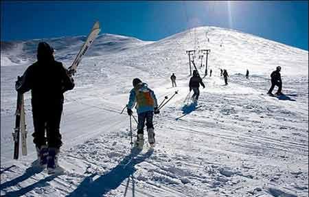 مکان دیدنی ایران در زمستان,جاهای دیدنی ایران در زمستان,پیست اسکی پیام