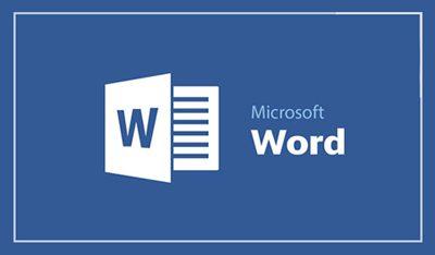 ترفندهای کامپیوتری, حذف متن در مایکروسافت ورد