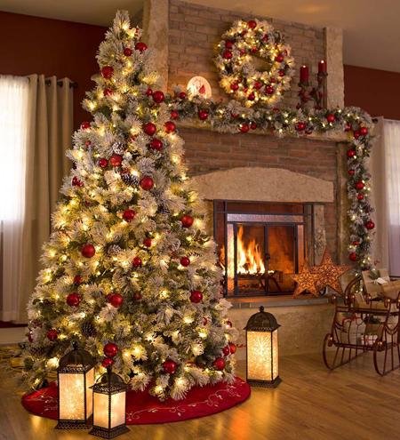 چیدمان خانه در کریسمس, تزیین حلقه در کریسمسی