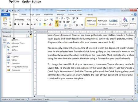 چگونگی یافتن و جایگزینی متن در مایکروسافت ورد, جایگزینی متن در مایکروسافت ورد