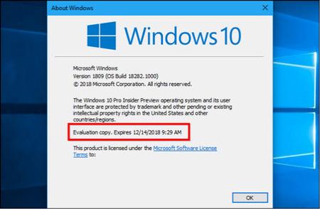آپدیت اتوماتیک ویندوز 10, آخرین ورژن ویندوز 10