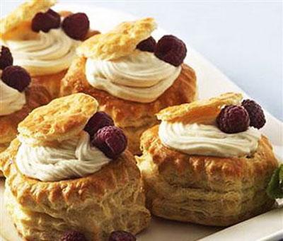 طرز تهیه شیرینی خامه ای , نحوه درست کردن شیرینی خامه ای