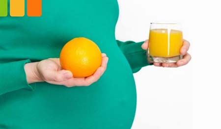 ,فواید پرتقال برای زن باردرای