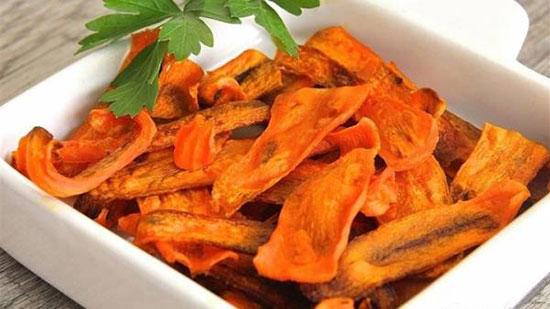 چگونه چیپس هویج ترد درست کنیم؟
