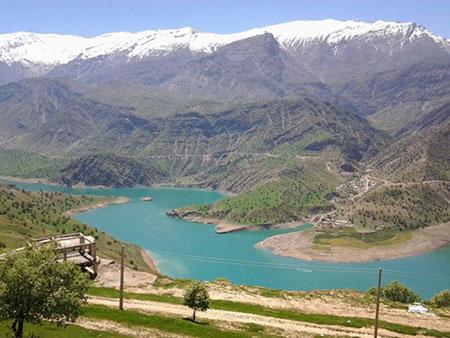 زیباترین سدهای ایران,معرفی زیباترین سدهای ایران,دهدز