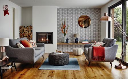 طراحی خانه در زمستان, طراحی و چیدمان خانه در زمستان