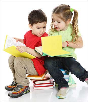 کتاب خواندن کودک,آموزش کتاب خواندن به کودک