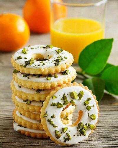 پخت شیرینی لیمویی یا پرتقالی, درست کردن شیرینی لیمویی یا پرتقالی