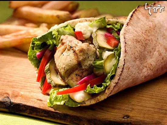 انواع غذاهای لبنانی
