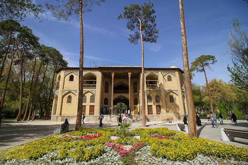 عمارت بهشت اصفهان