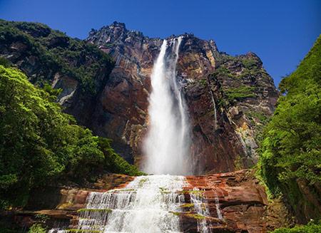 بلندترین آبشار دنیا,آبشارهای بلند جهان,آبشار آنجل