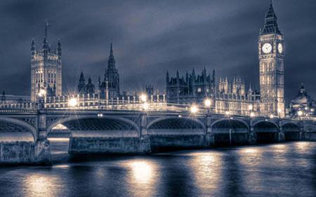 عکس هوایی از شهر لندن,تصاویر زیبای شهر لندن,شهر تفریحی لندن
