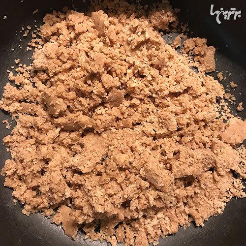 طرز تهیه خورشت ششانداز بادمجان، مرحلهبهمرحله