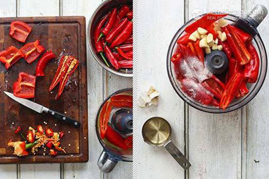 طرز تهیه بهترین سس سیراچا تخمیری بدون شکر افزوده